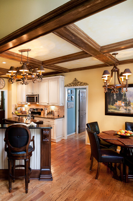 Rustic Gourmet European Dream Kitchen - Rustic - Kitchen - other metro - by Beauti-Faux Finishes