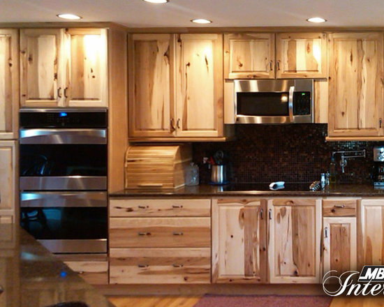 612 Kitchen Design Photos with Stainless Steel Appliances, Light Wood