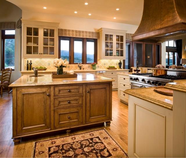 Earth Tone Kitchen Colors: Santa Lucia Preserve Ranch, Carmel CA