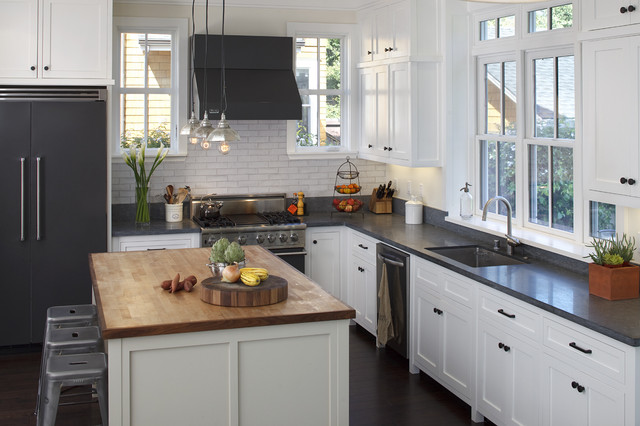 """Mill Valley """"home Sweet home"""" rustic-kitchen"""