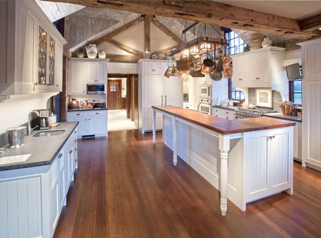 Trinity Ranch rustic-kitchen