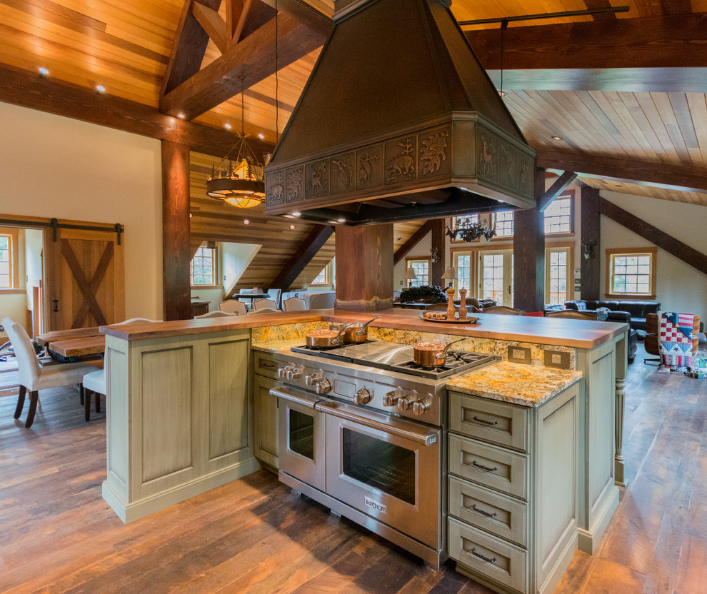Rustic Kitchen Cabinets - Rustic - Kitchen - Portland - by ...