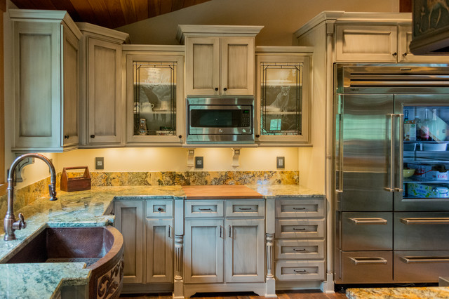 Rustic kitchen cabinets rustic kitchen portland by - Kitchen cabinets portland or ...