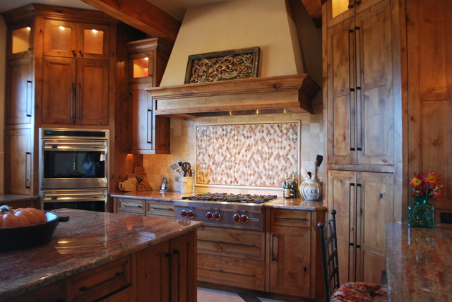 rustic kitchen  Traditional  Kitchen  other metro  by