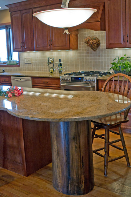Rustic Kitchen Great Room Traditional Kitchen Other Metro By Kitchen Concepts Inc