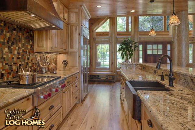 Lakehouse 4166al Rustic Kitchen Other By Golden