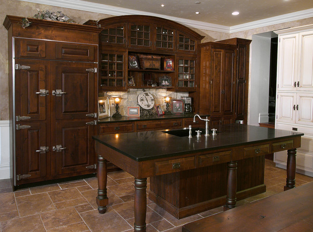Rustic Kitchen in Bucks County PA traditional-kitchen