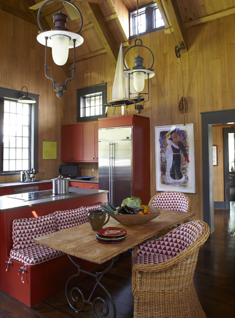 Day residence interiors rustic kitchen birmingham for Interior kitchen design birmingham