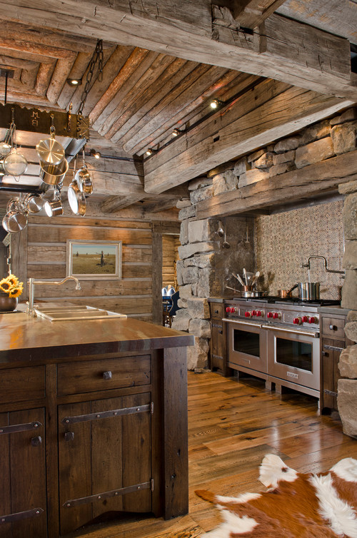 10 design ideas for your rustic kitchen
