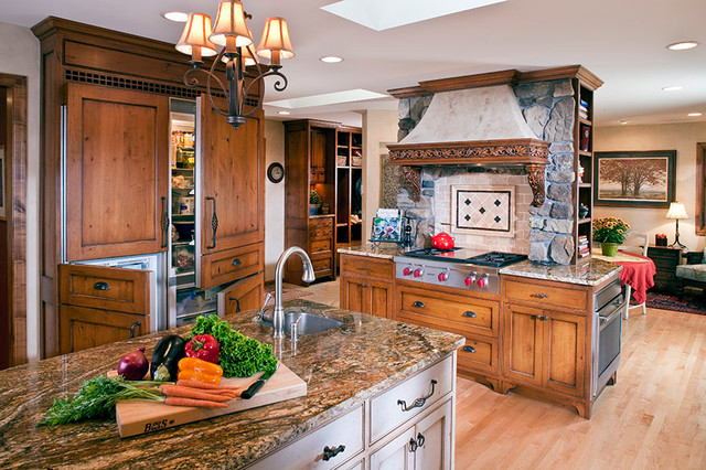 Rustic Kitchen Remodel traditional-kitchen