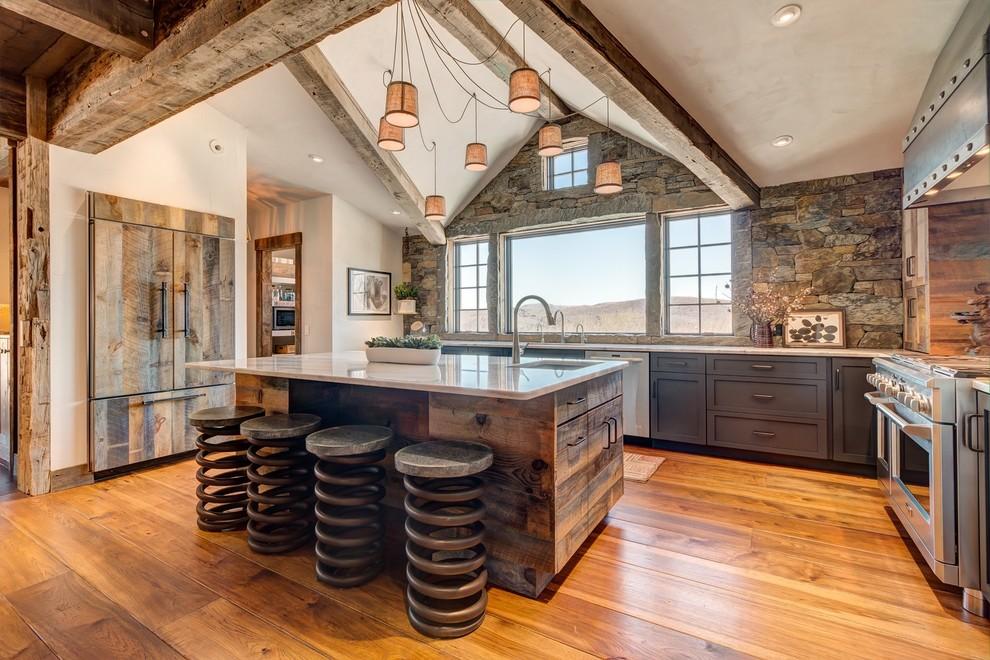 Rustic Kitchen - Rustic - Kitchen - Burlington