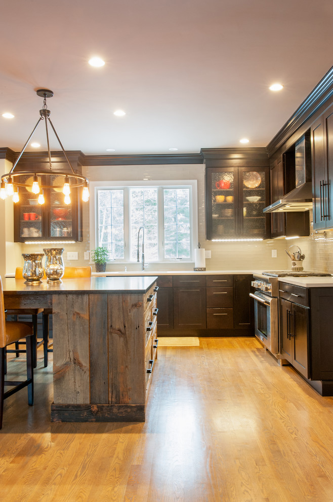 Rustic Kitchen with a Modern Twist