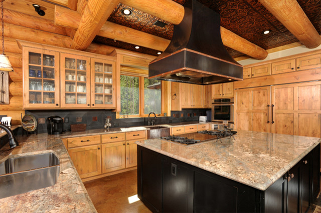 Kitchen Ceilings With Tin Rustic Kitchen Tampa By