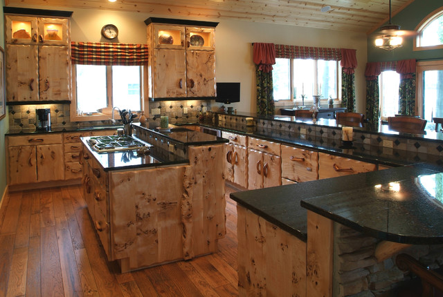 Rustic Kitchen - Rustic - Kitchen - Other - by Woodland Creek Furniture