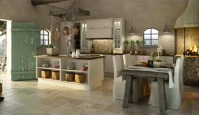 Rustic kitchens   middelhavsstil   køkken   charlotte   af kitchen ...