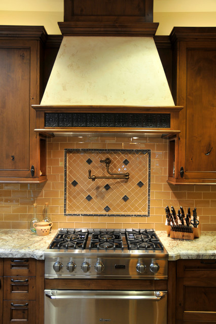 Rustic Meets Elegant transitional-kitchen