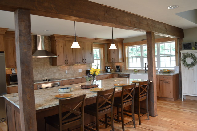 Rustic Modern Farmhouse Kitchen