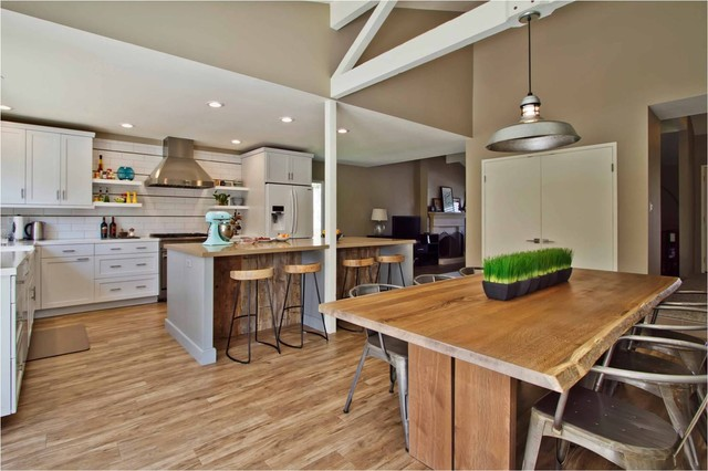 Rustic Modern Transitional Kitchen San Go By