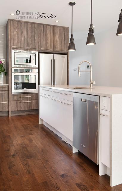 Rustic modern kitchen modern kitchen ottawa by for Kitchen cabinets ottawa