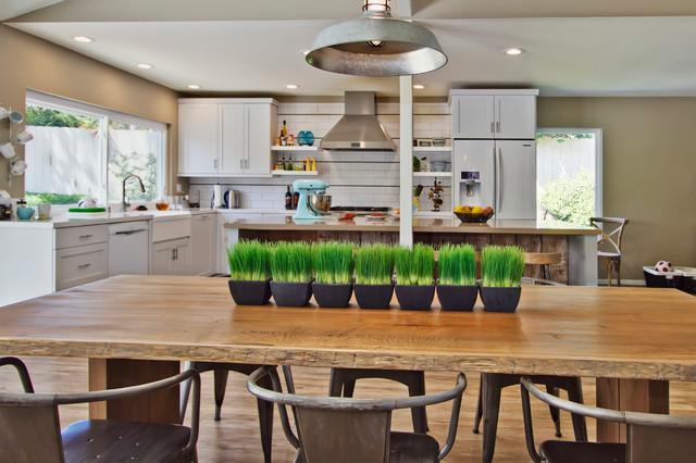 & Rustic Modern Kitchen