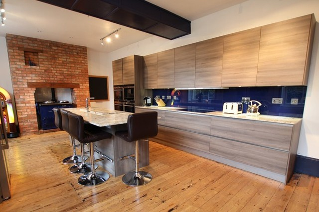 Rustic modern kitchen look by lwk kitchens contemporary for Modern kitchen london