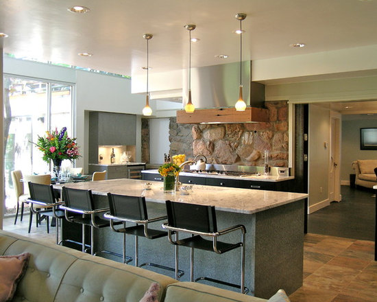 Rustic Modern Kitchen Awesome With Modern Rustic Kitchen Picture