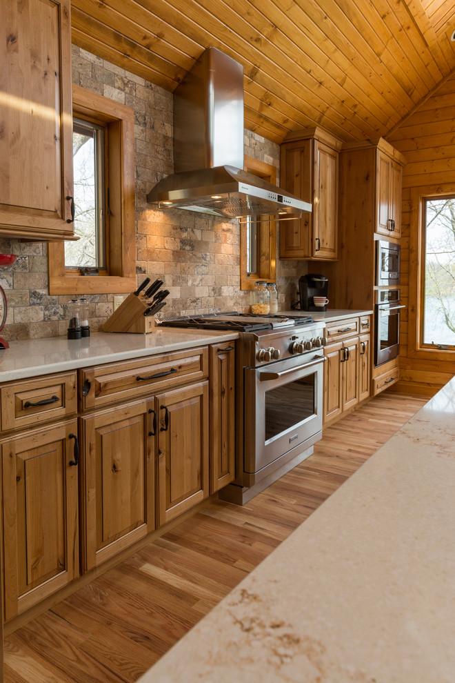 Rustic Modern Lake Retreat - Kitchen - Rustic - Kitchen ...