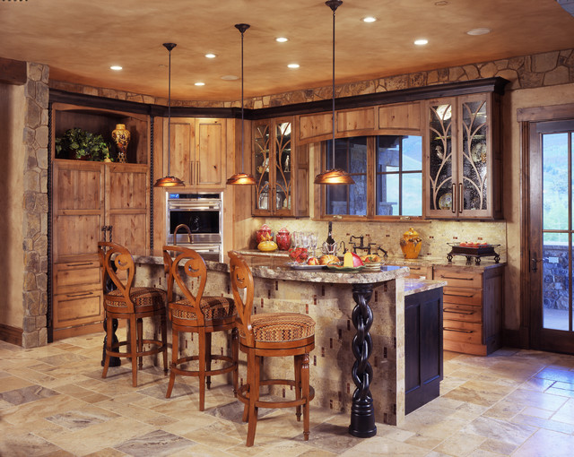 Interior Designers U0026 Decorators. Rustic Modern Mountain Home  Traditional Kitchen