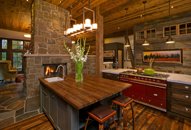 Rustic Mountain Homes Rustic Kitchen By Fedewa