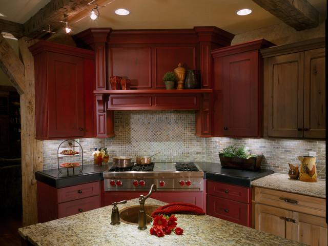 Rustic Northeast Kitchen traditional-kitchen