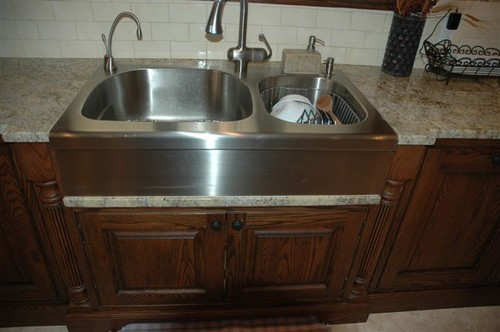 Franke Stainless Steel Farmhouse Sink : where do you purchase stainless steel apron sinks like this one or ...