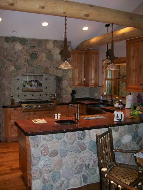 Rustic Ranch House rustic-kitchen