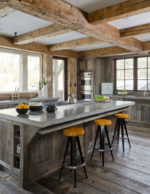 Rustic Redux - Rustic - Kitchen - by On Site Management, Inc.