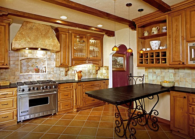 Rustic Remix Kitchen Remodel - Long Beach, CA - Traditional - Kitchen ...