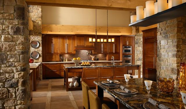 Superieur Rustic Stone Kitchen Rustic Kitchen