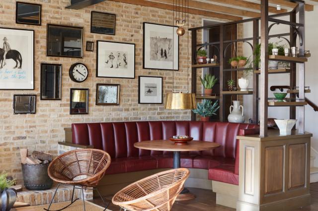 Rustic Vintage Industrial Kitchen Rustikal Kuche London Von Artichoke Houzz