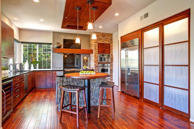 Rustic Zen Kitchen Contemporary Kitchen San Diego By Jackson Design Remodeling