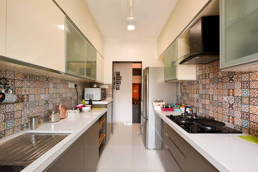 Rustomjee Urbania Asian Kitchen Mumbai By Rennovate Home Solutions Pvt Ltd