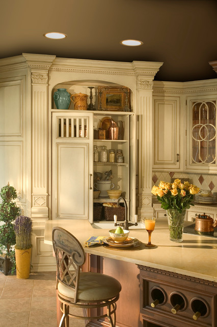 Rutt Handcrafted Cabinetry,  Loire Valley traditional-kitchen