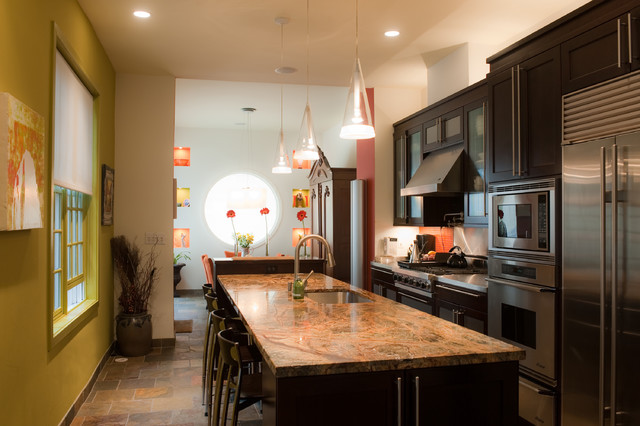 S. 7th Street Residence eclectic-kitchen