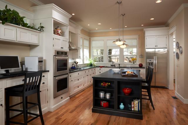 S corona st traditional kitchen denver by red for Kitchen designs denver