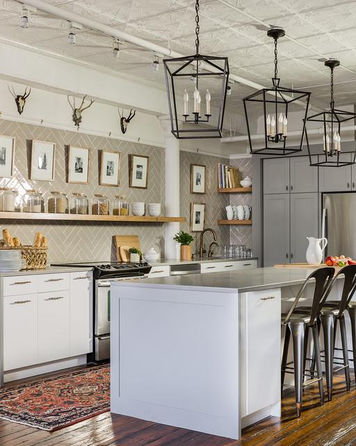 Sabbe Interior Design :: Leather District Loft Kitchen