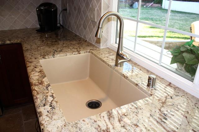 Sable cherry kitchen for Miramar kitchen and bath