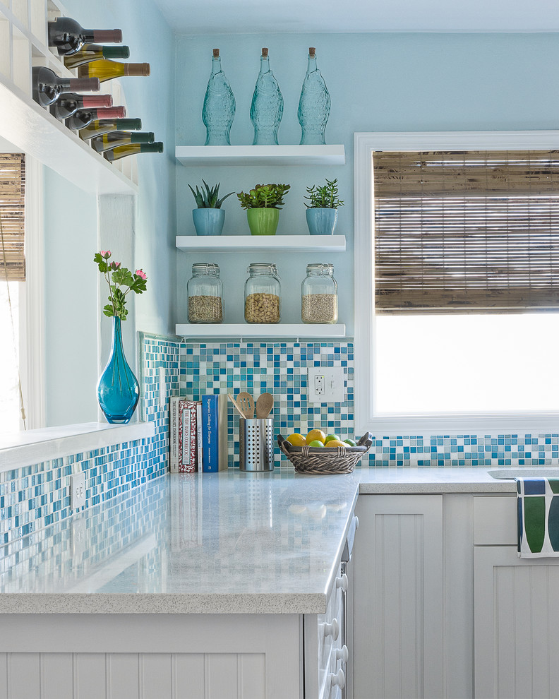 Example of a coastal kitchen design in San Luis Obispo