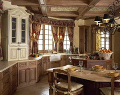 Saddle River French Country traditional-kitchen