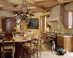 Saddle River French Country mediterranean kitchen