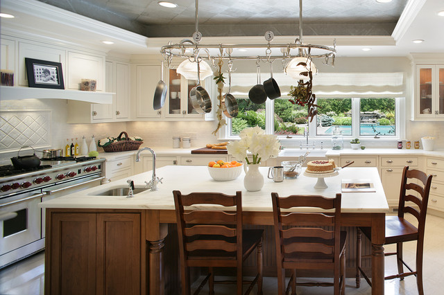 Saddle River Showhouse traditional kitchen