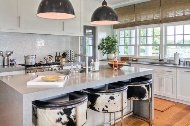 Sag Harbor Beach Style Kitchen New York By