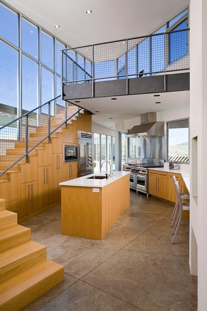 Sage House contemporary-kitchen