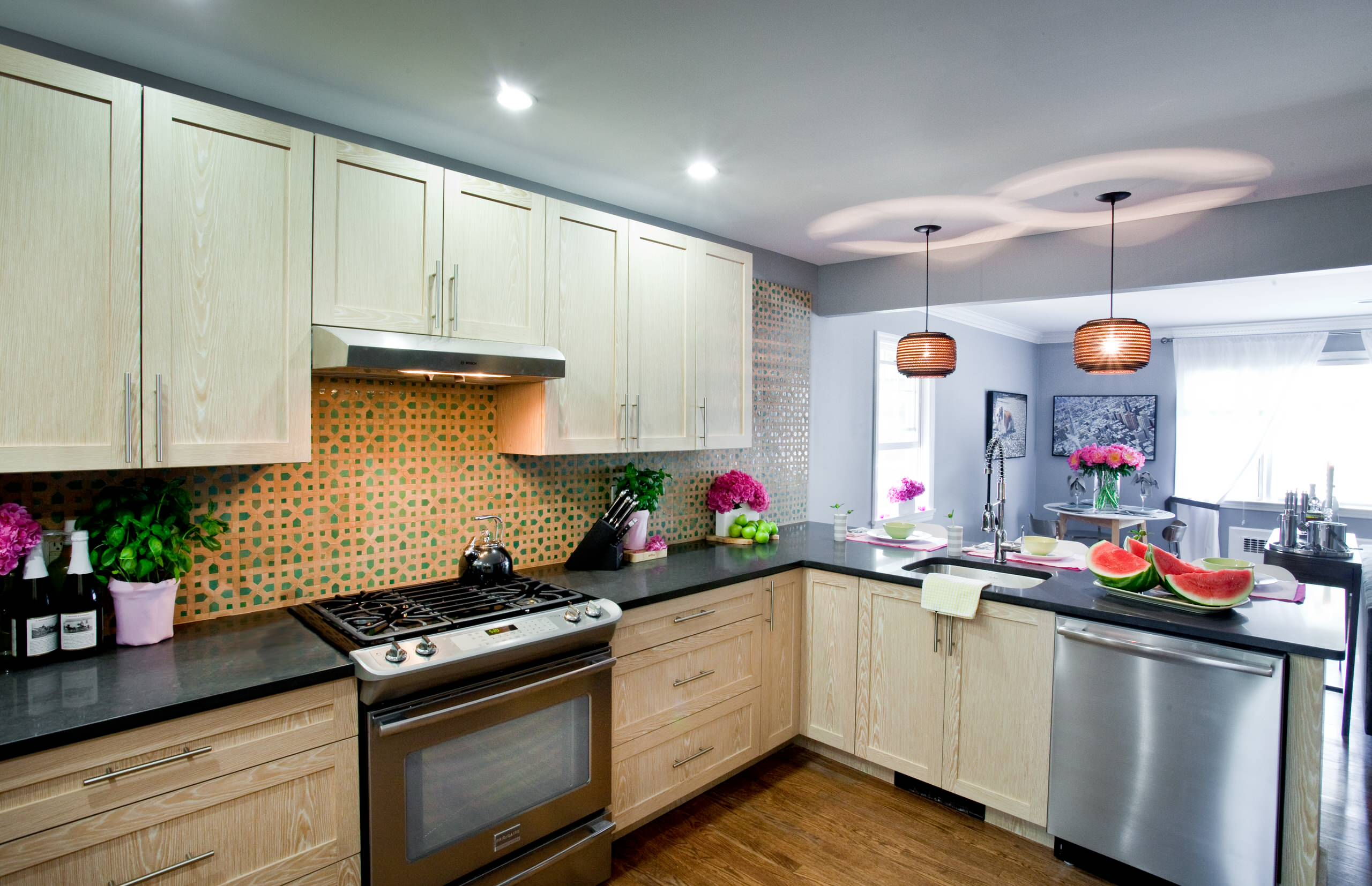 Moroccan Tile Backsplash Houzz